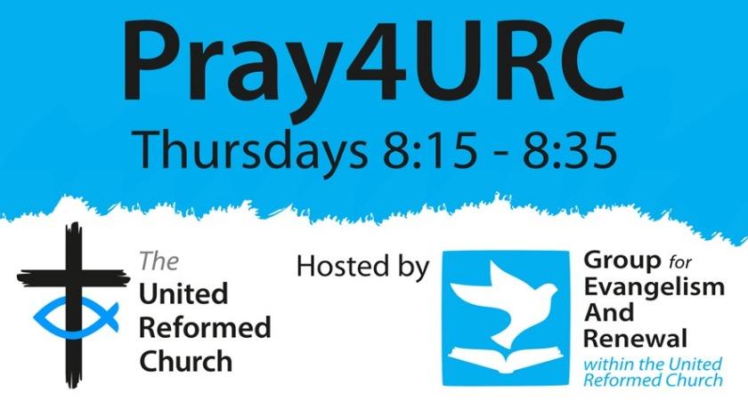Pray4URC news banner