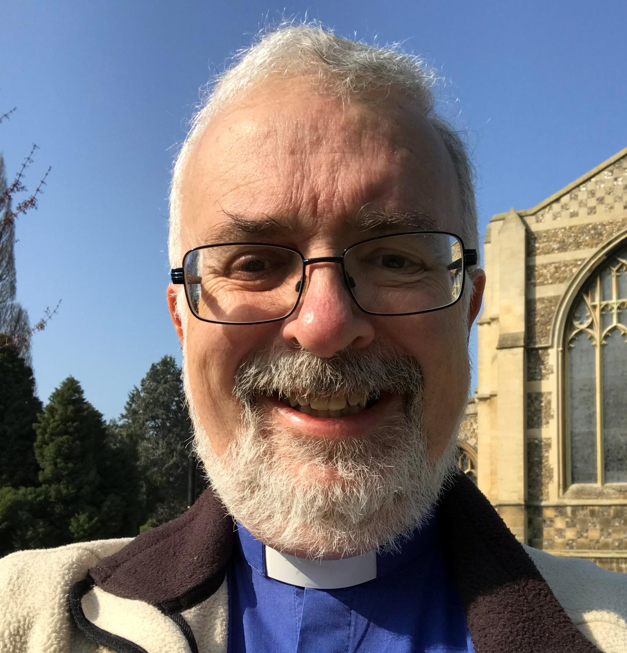 Paul Whittle smilingt