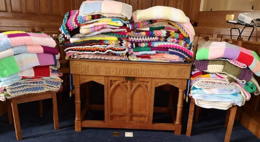 Gillingham URC malawi blankets