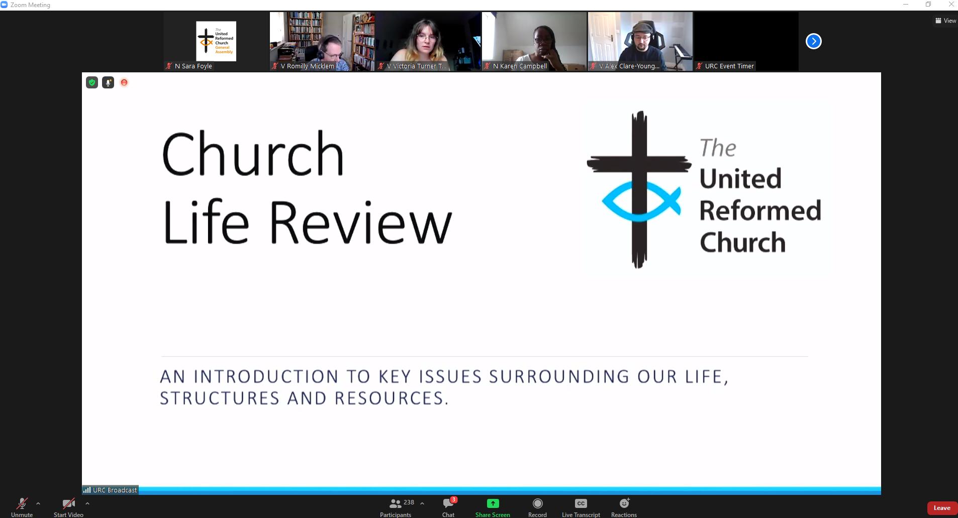 church life review screenshot