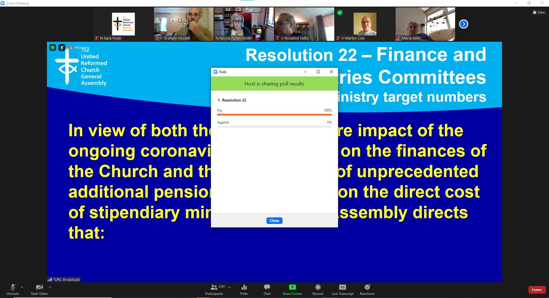 Res 22 passed