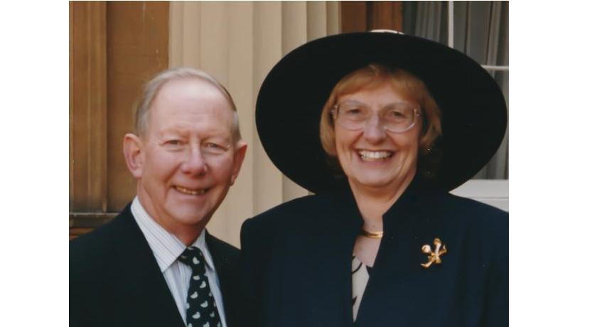 Margaret Seward and hubby credit the Seward family