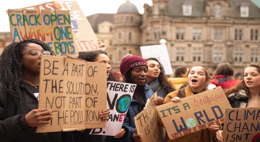 Climate protest credit Callum Shaw Unsplash