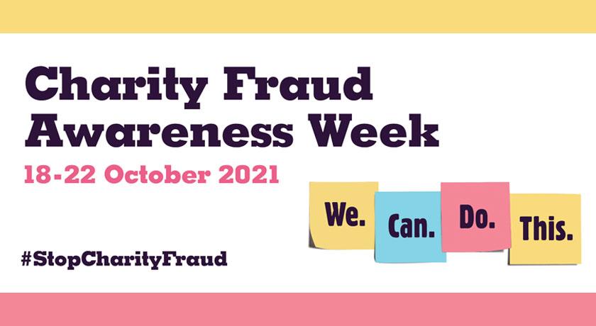 charity fraud banner